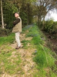 John Scott at Ash Hill Farm