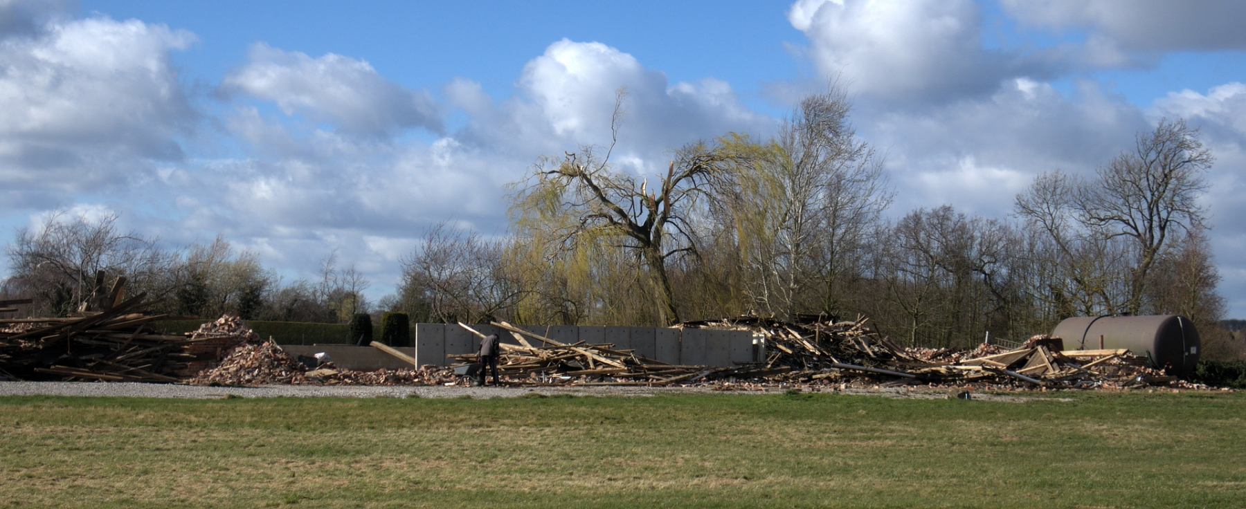 Damage caused by Tornado 10th March
