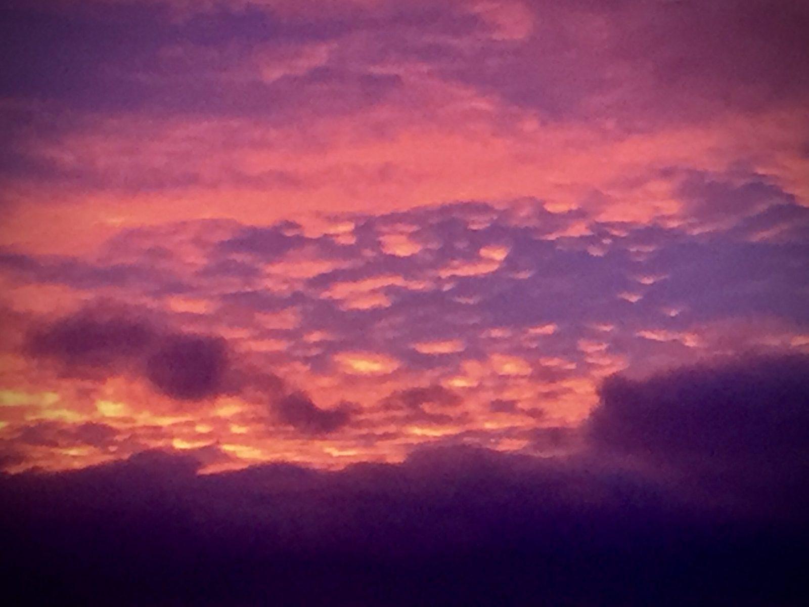 A Skellow sky at Christmas